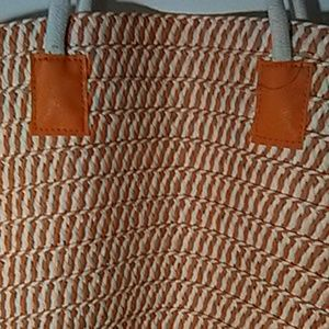 Bags - * Bag, orange/cream color